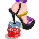 鞋子粉碎ASMR